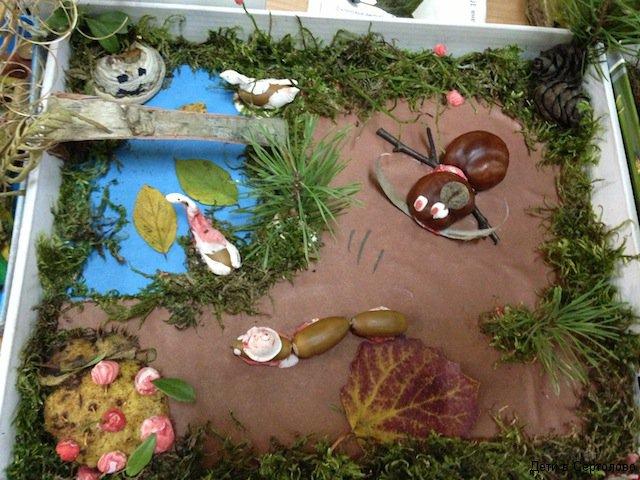 Посмотреть поделки из природного материала Дети в Сертолово