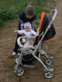 ребенок не сидит в коляске