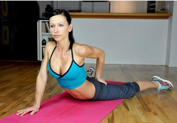 уроки фитнеса дома