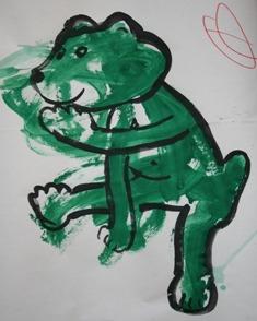 сказка про медвежонка и червячка