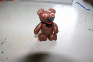 лепим медведя