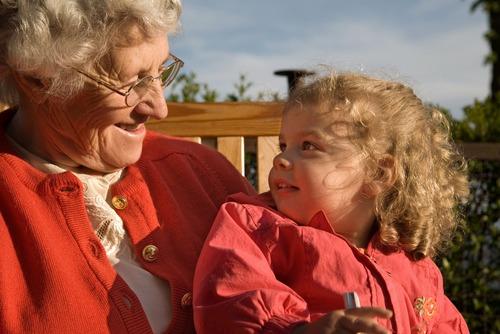 общение внуков с бабушками