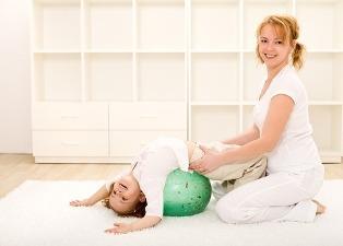упражнения для детей и мамы