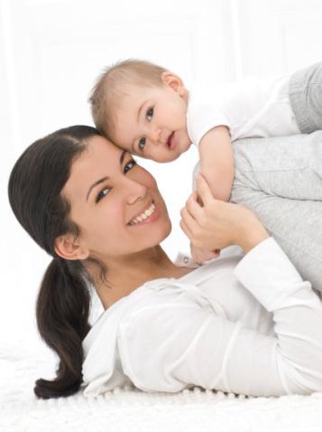 фитнес с малышом видео