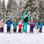Занятия по беговым лыжам в Сертолово для детей